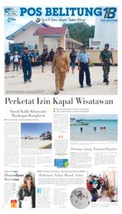 Pos Belitung Cover 12 June 2019