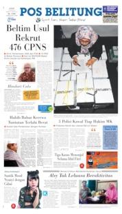 Pos Belitung Cover 14 June 2019