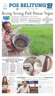 Cover Pos Belitung 15 Juni 2019
