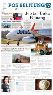 Pos Belitung Cover 30 June 2019