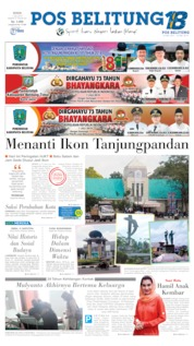 Pos Belitung Cover 01 July 2019