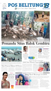 Pos Belitung Cover 11 July 2019
