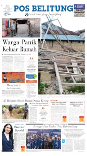 Pos Belitung Cover 15 July 2019