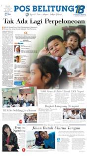 Cover Pos Belitung 16 Juli 2019