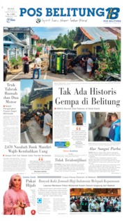 Pos Belitung Cover 23 July 2019
