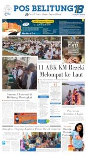 Cover Pos Belitung 12 Agustus 2019