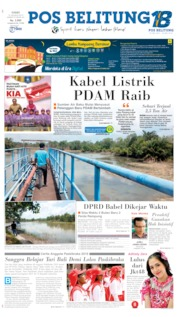 Pos Belitung Cover 15 August 2019