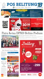 Pos Belitung Cover 19 August 2019