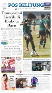Cover Pos Belitung 23 Agustus 2019