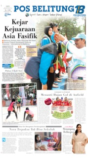 Cover Pos Belitung 24 Agustus 2019