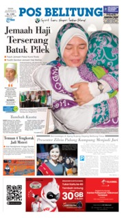 Pos Belitung Cover 26 August 2019