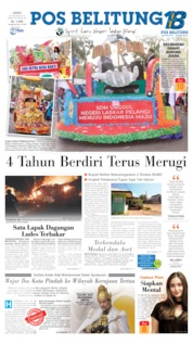 Pos Belitung Cover 30 August 2019