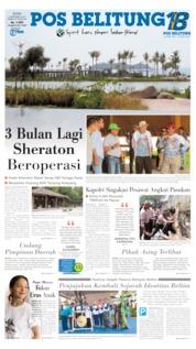 Pos Belitung Cover 02 September 2019