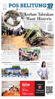 Pos Belitung Cover 03 September 2019