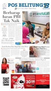 Pos Belitung Cover 04 September 2019