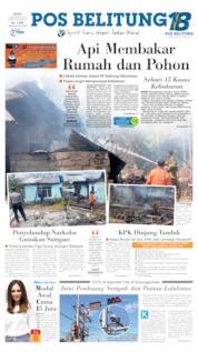Pos Belitung Cover 06 September 2019