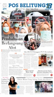 Cover Pos Belitung 08 September 2019