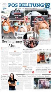 Pos Belitung Cover 08 September 2019