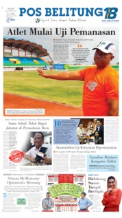 Cover Pos Belitung 10 September 2019