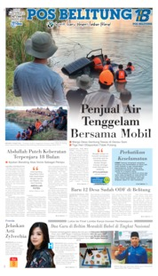 Cover Pos Belitung 11 September 2019