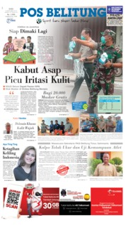 Cover Pos Belitung 18 September 2019