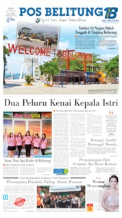 Pos Belitung Cover 07 October 2019