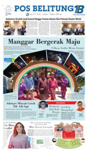 Pos Belitung Cover 10 October 2019