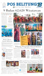 Pos Belitung Cover 12 October 2019