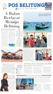 Pos Belitung Cover 17 October 2019