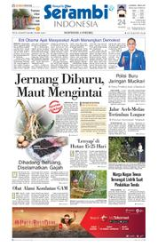 Cover Serambi Indonesia 19 Maret 2018