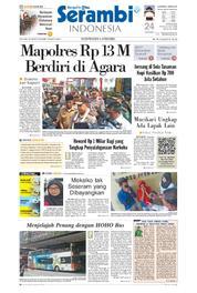 Cover Serambi Indonesia 20 Maret 2018
