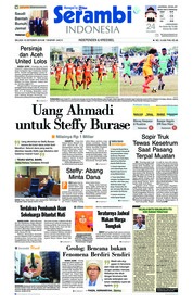 Cover Serambi Indonesia 16 Oktober 2018