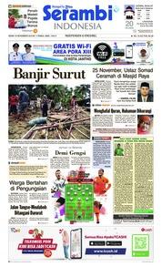 Serambi Indonesia Cover 19 November 2018