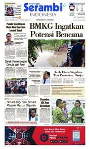 Cover Serambi Indonesia 22 November 2018