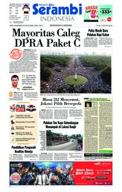 Cover Serambi Indonesia 03 Desember 2018