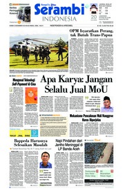 Cover Serambi Indonesia 06 Desember 2018