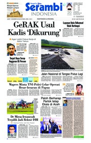 Cover Serambi Indonesia 07 Desember 2018