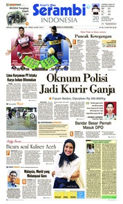 Cover Serambi Indonesia 09 Desember 2018