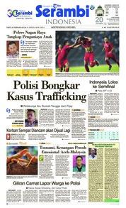 Cover Serambi Indonesia 23 Februari 2019