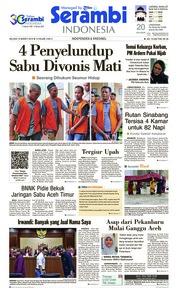 Serambi Indonesia Cover 19 March 2019