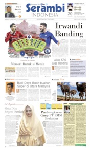 Cover Serambi Indonesia 14 April 2019
