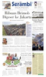 Serambi Indonesia Cover 24 April 2019