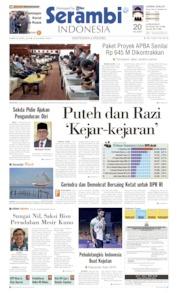 Serambi Indonesia Cover 25 April 2019