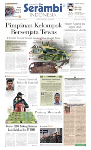 Serambi Indonesia Cover 26 April 2019