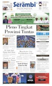 Serambi Indonesia Cover 13 May 2019