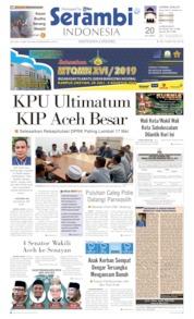 Serambi Indonesia Cover 14 May 2019