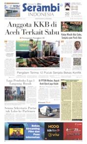 Serambi Indonesia Cover 16 May 2019