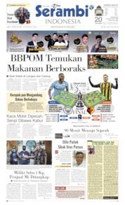 Serambi Indonesia Cover 18 May 2019