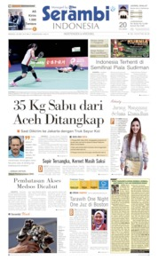 Serambi Indonesia Cover 26 May 2019
