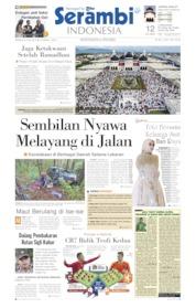 Cover Serambi Indonesia 09 Juni 2019